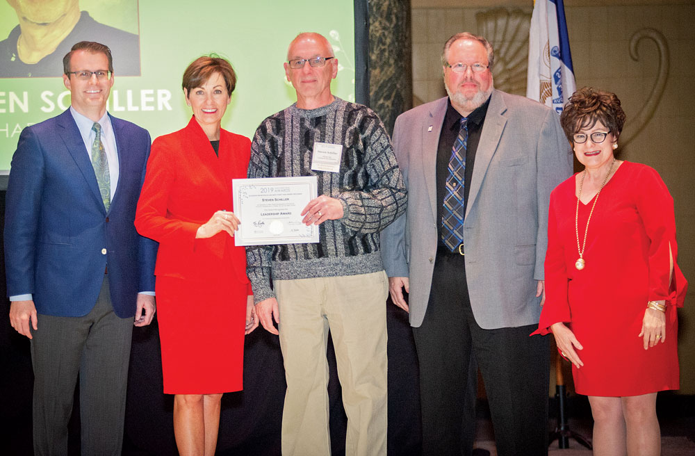 Schiller honored at annual Main Street Iowa awards celebration