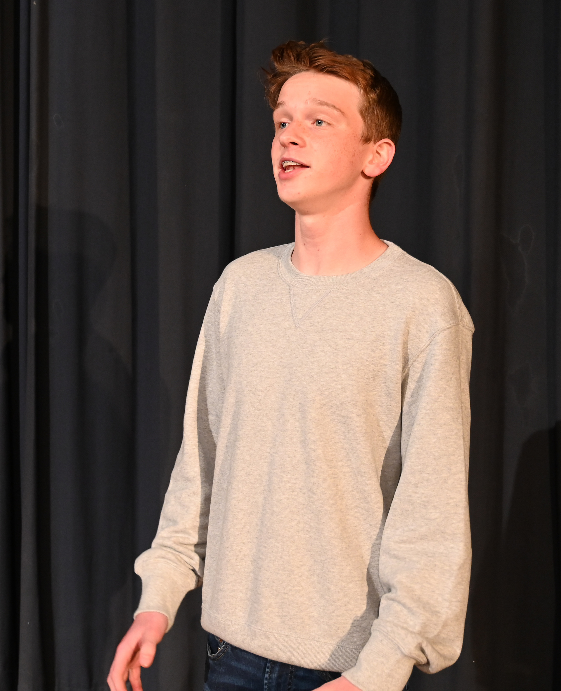 CCHS sophomore Haglund receives national recognition for vocal talent