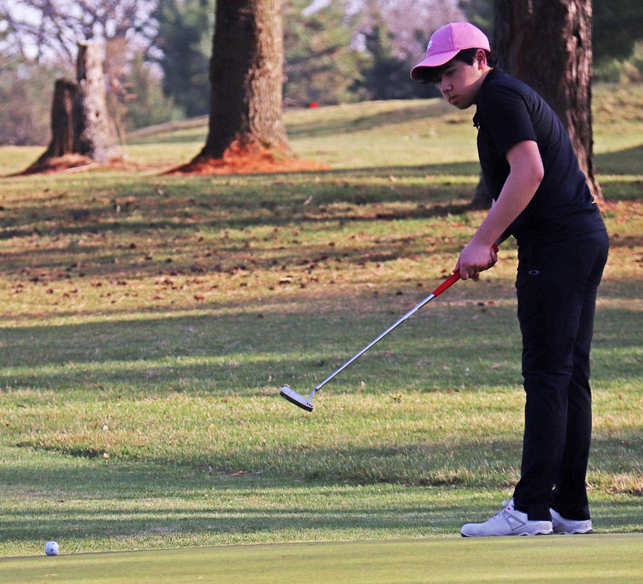 Comet girls win season-opening golf triangular; Trevor White medalist for CC boys