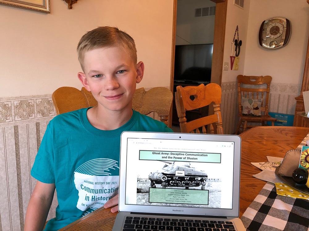 Nashua-Plainfield student takes first place in category at National History Day contest