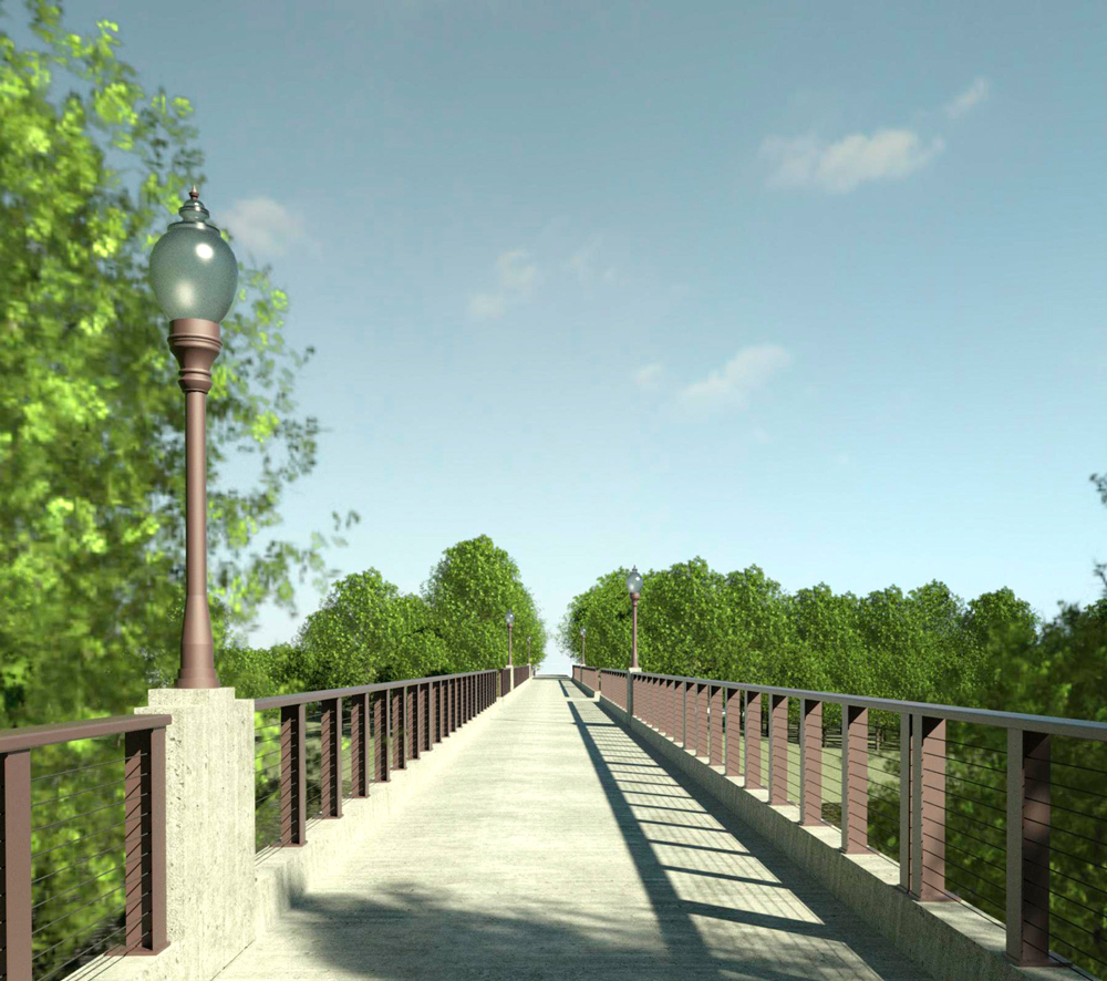 City council approves purchase of lights for Charley Western Trail bridge