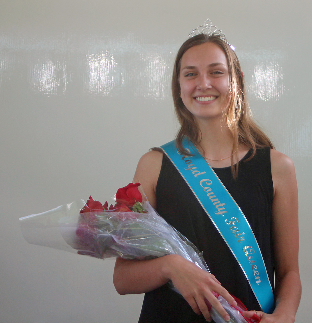 Anderson crowned 2021 Floyd County Fair Queen