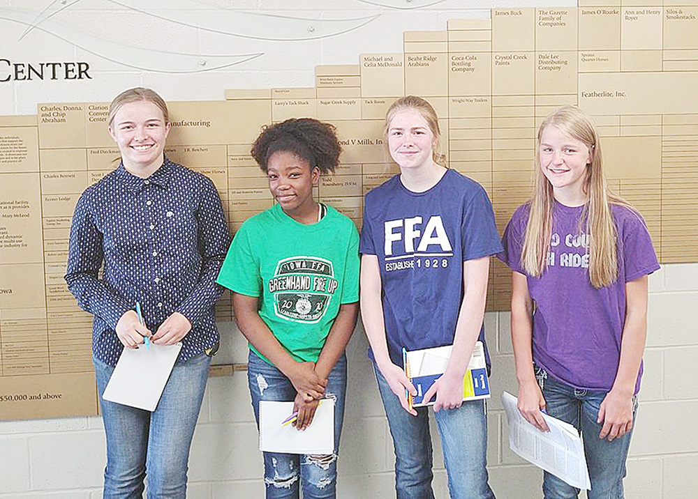 FFA members take part in career development events, attend district leadership conference