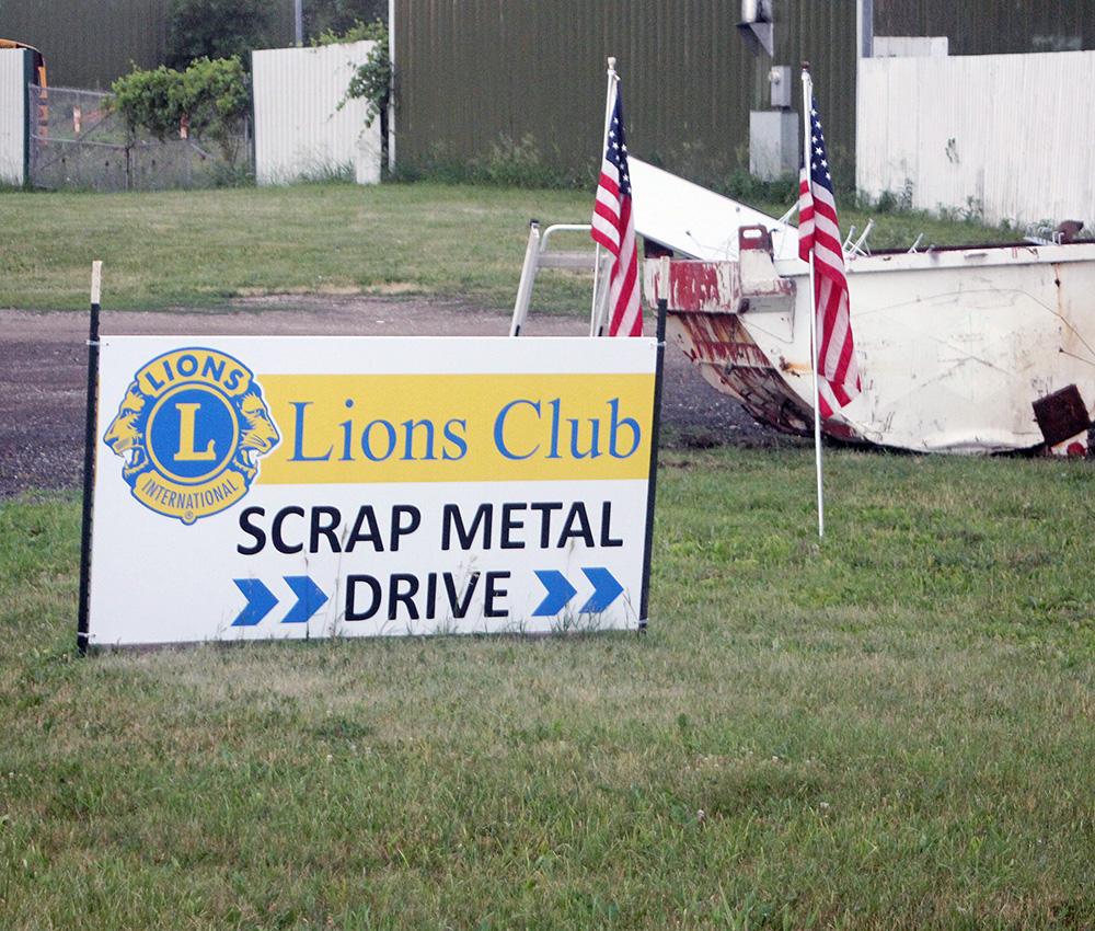Lions scrap metal drive running through June 26