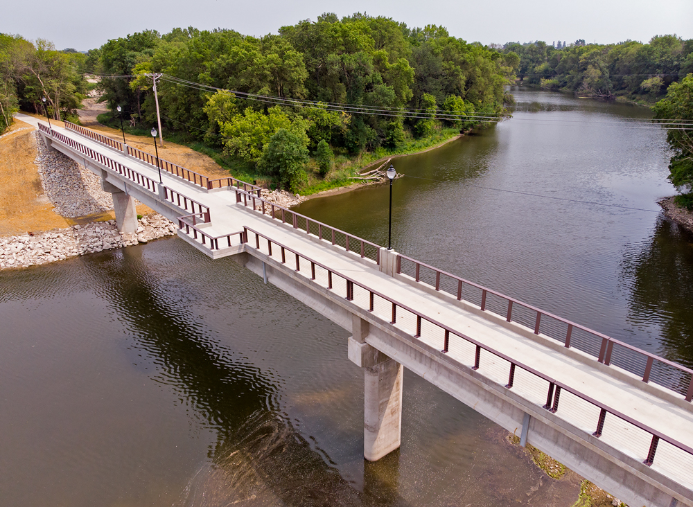 Charley Western Recreational Trail Bridge official opens Sunday