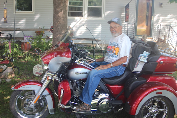 Hickle honored for 60 years of attendance at Sturgis bike rally