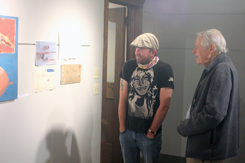CCAC holds reception for September artists Orthel, Gordon