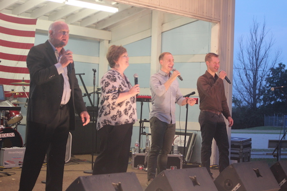 Annual Floyd Gospel Sing another hit